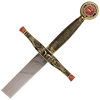 King Arthur Excalibur Sword with Plaque