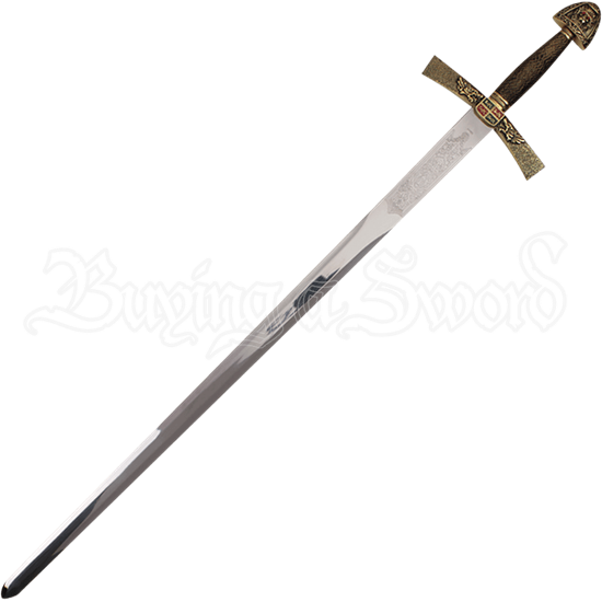 Ivanhoe Sword with Plaque