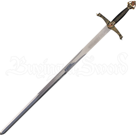 Lancelot Sword with Plaque