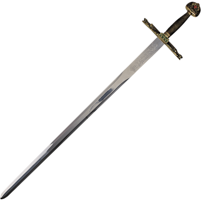 Sword of Charlemagne with Plaque