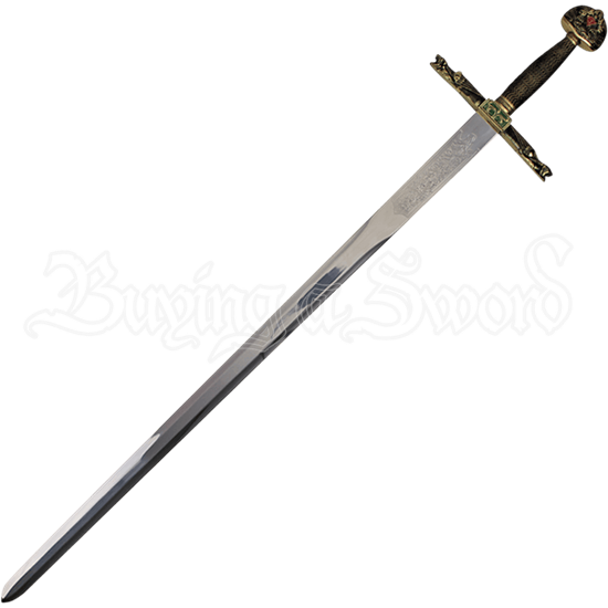 Sword of Charlemagne with Sheath