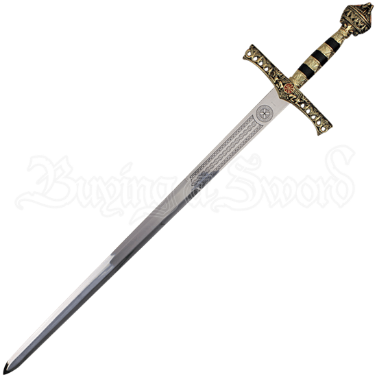 King Richard the Lionheart Sword with Plaque