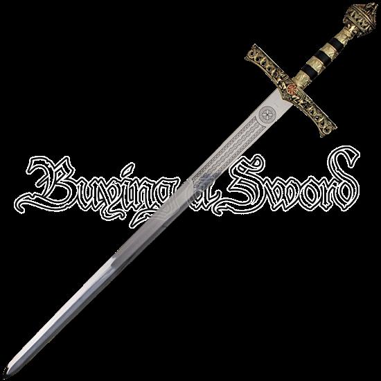 King Richard the Lionheart Sword with Sheath