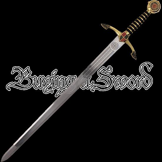 Black Prince Sword with Sheath