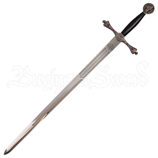 Medieval Griffon Sword with Plaque