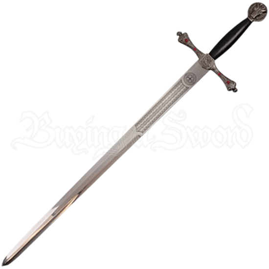 Medieval Griffon Sword with Sheath
