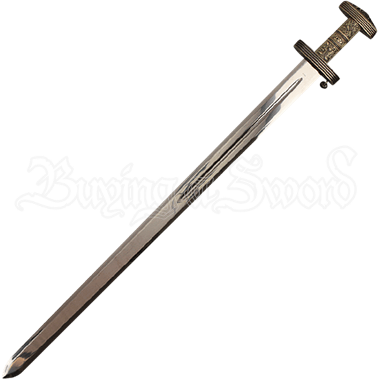 Viking Battle Sword with Plaque