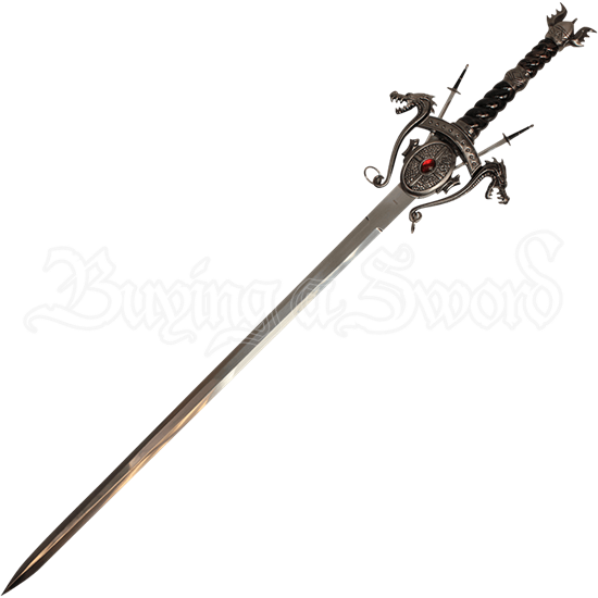 Dragon Sword and Letter Opener Plaque