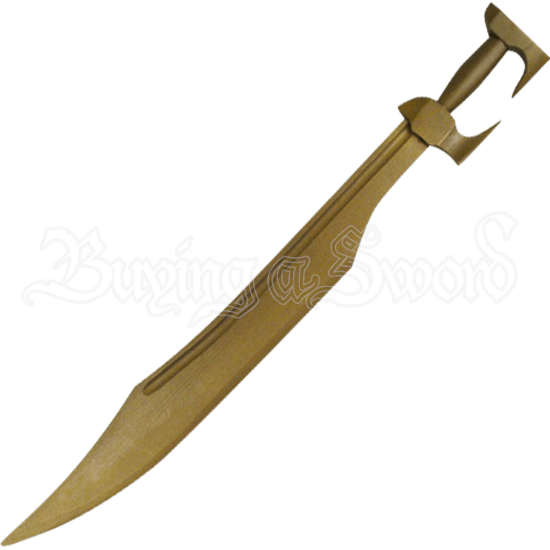 Wooden Spartan Sword