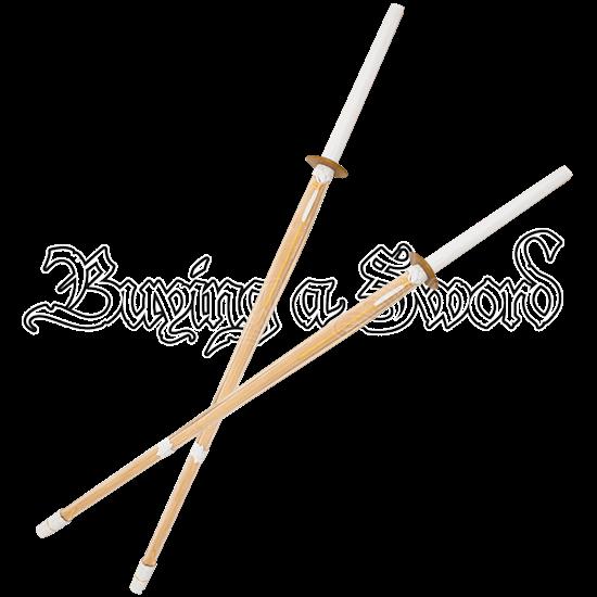 Kendo Bamboo Shinai Set