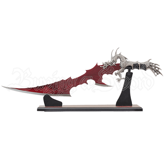 Blood Red Blade Dragon Dagger
