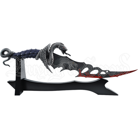 Coiled Dragon Dagger
