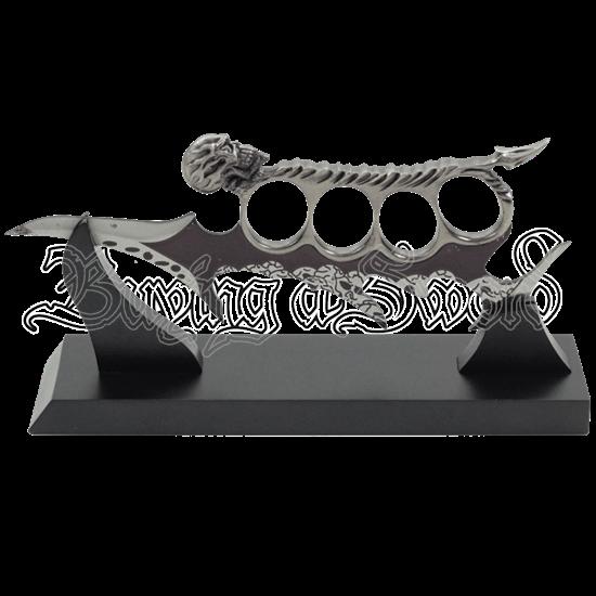 Gothic Skull Knuckle Dagger