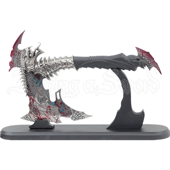 Bloodied Dragon Axe