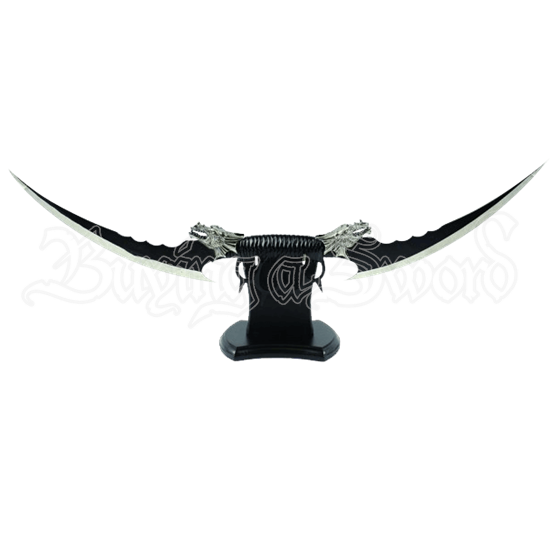 Double Bladed Dragon Knuckle Dagger