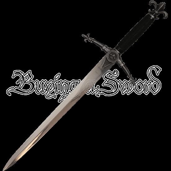 Decorative Fleur De Lis Dagger