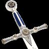 Silver Masonic Sword