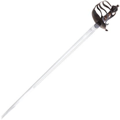 Mortuary Half Basket Hilt Sword
