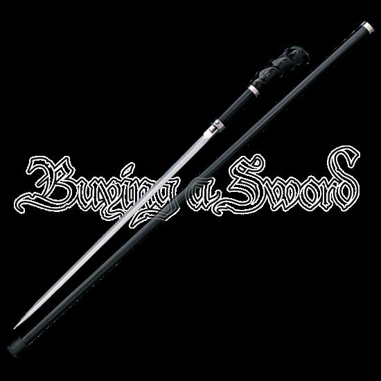 Buffalo Horn Sword Cane