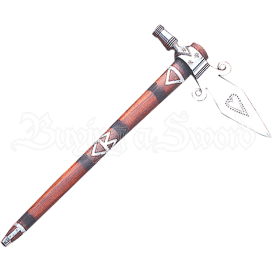 Spontoon Tomahawk Pipe