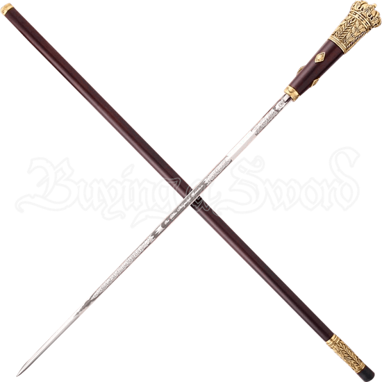 On Her Majestys Service Sword Cane