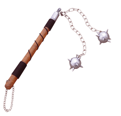 Medieval Two Ball Flail