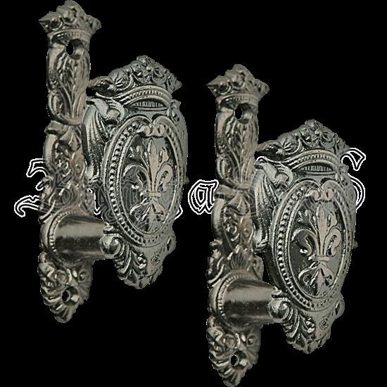 Fleur Shield Expandable Sword Hanger