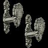 Rampant Lion Sword Hangers