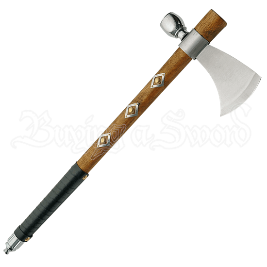 Diamond Tomahawk Peace Pipe