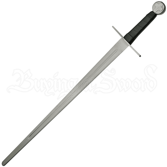 Medieval Cross Battle Ready Sword