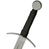 Curved Guard Medieval Sword