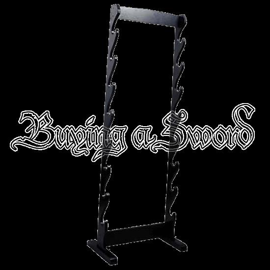 8 Sword Floor Stand
