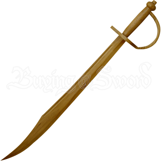 Wooden Pirate Sword