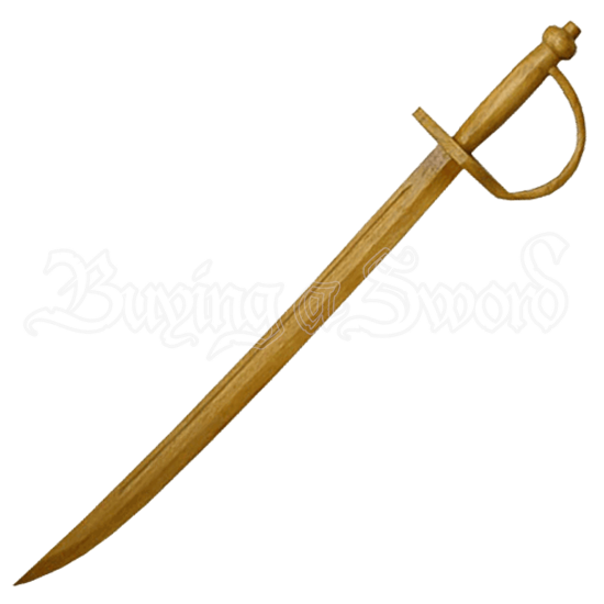 Wooden Pirate Sword