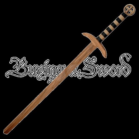 Wooden Templar Sword