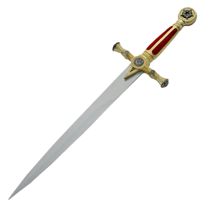 Masonic Red Dagger