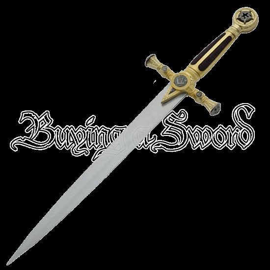 Masonic Black Dagger