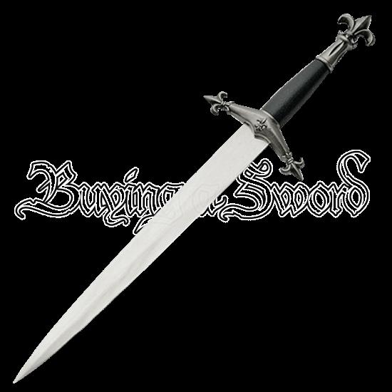 Medieval Fleur de Lis Dagger