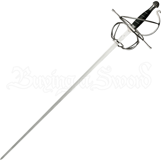 Wired Black Hilt Rapier