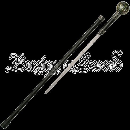 Medieval Fleur de Lis Sword Cane