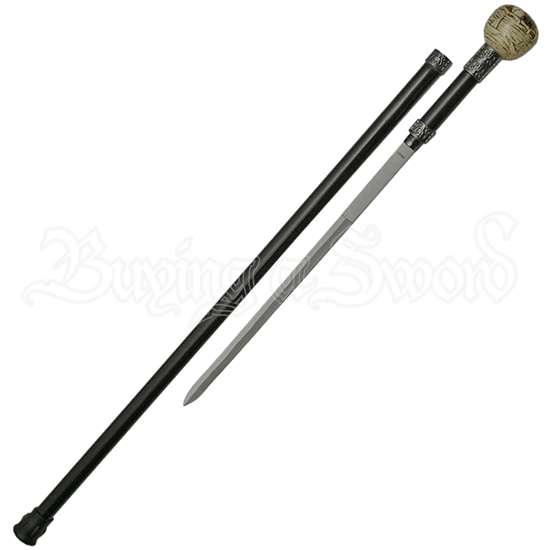 Pirate Skull Sword Cane