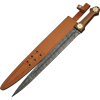 Firestorm Damascus Sword