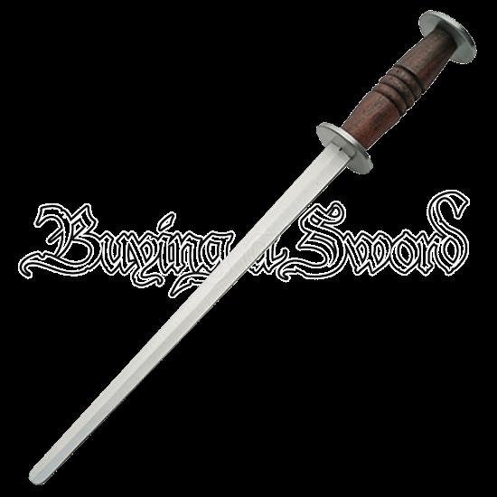Thin Medieval Rondel Dagger