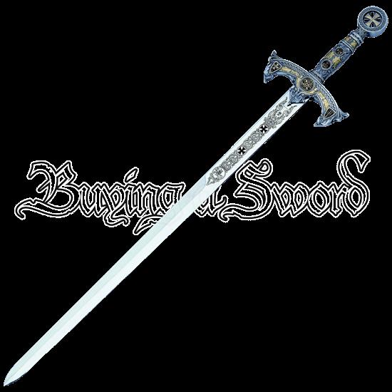 Silver Templar Sword by Marto