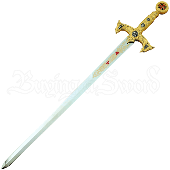 Gold Templar Sword by Marto