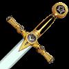 Gold Masonic Sword by Marto