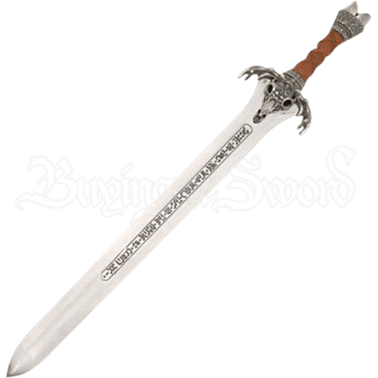 Silver Conan Father Sword by Marto