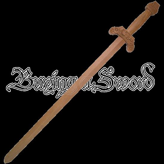 Wooden Jian Sword
