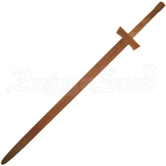 Wooden Two-Handed Sword