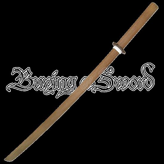 Natural Red Oak Daito Sword